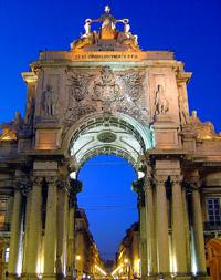 Vuelos Lisboa: Arco del Triunfo de la Rua